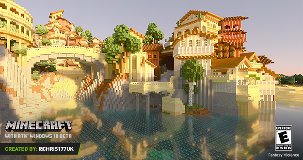 Minecraft with RTX Windows 10 Beta: Your PBR Questions Answered, and Free Resource Pack Downloads