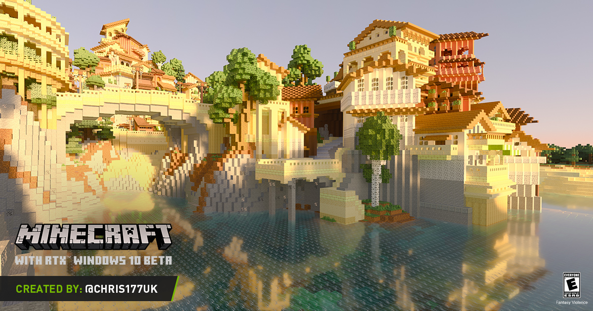 Minecraft With Rtx Windows 10 Beta Your Pbr Questions Answered And Free Resource Pack Downloads