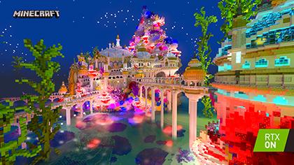 Minecraft with RTX Beta: Aquatic Adventure Screenshot