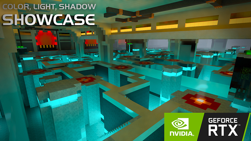 Minecraft with RTX Beta: Color, Light and Shadow Creator World