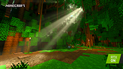 Minecraft with RTX Beta: Of Temples and Totems Screenshot