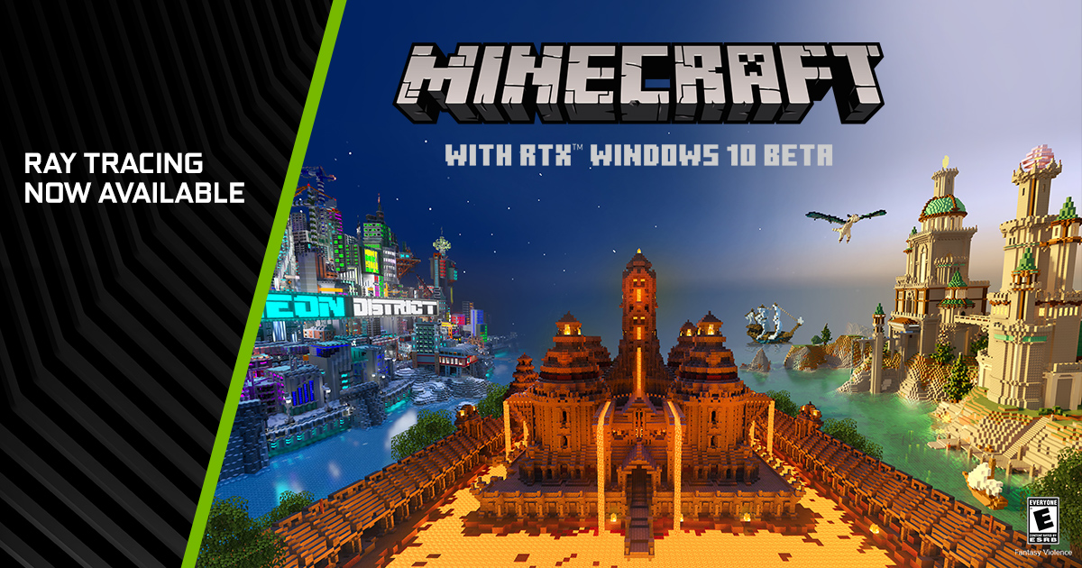 The Minecraft With Rtx Beta Is Out Now