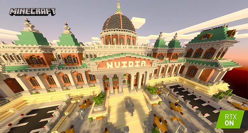 Minecraft with RTX Beta: Razzleberries RTX Texture Showcase