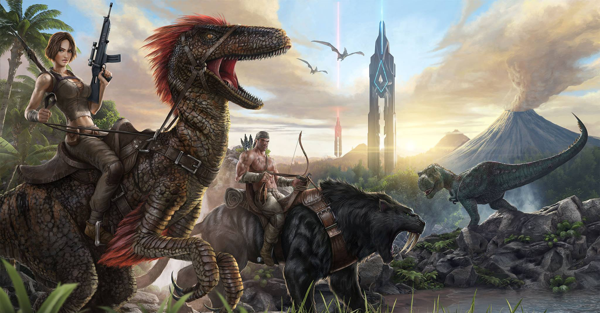 NVIDIA Ansel Available Now In ARK: Survival Evolved