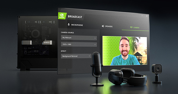 Turn Any Room Into a Home Studio with the New AI-Powered NVIDIA Broadcast App