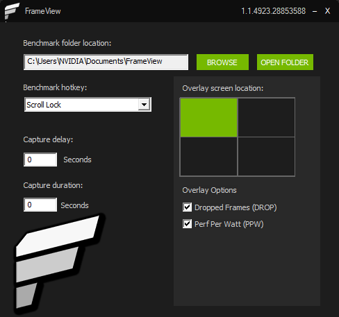 Frameview Performance And Power Benchmarking App Free Download Available Now Nvidia