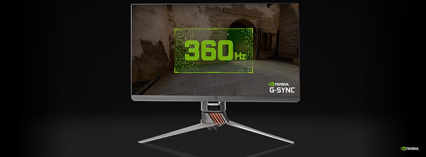 NVIDIA G-SYNC's 360Hz
