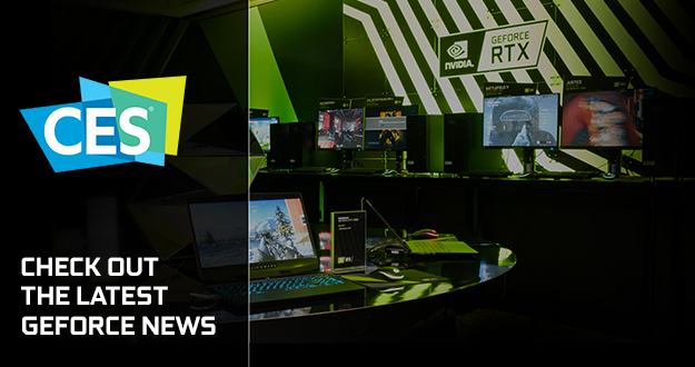GeForce At CES 2020: New G-SYNC ULTIMATE Mini-LED and 360Hz Tech, New Feature-Packed Game Ready Driver, 25 new G-SYNC Compatible Monitors and BFGDs, Wolfenstein: Youngblood Ray Tracing, and Quake II RTX v1.3