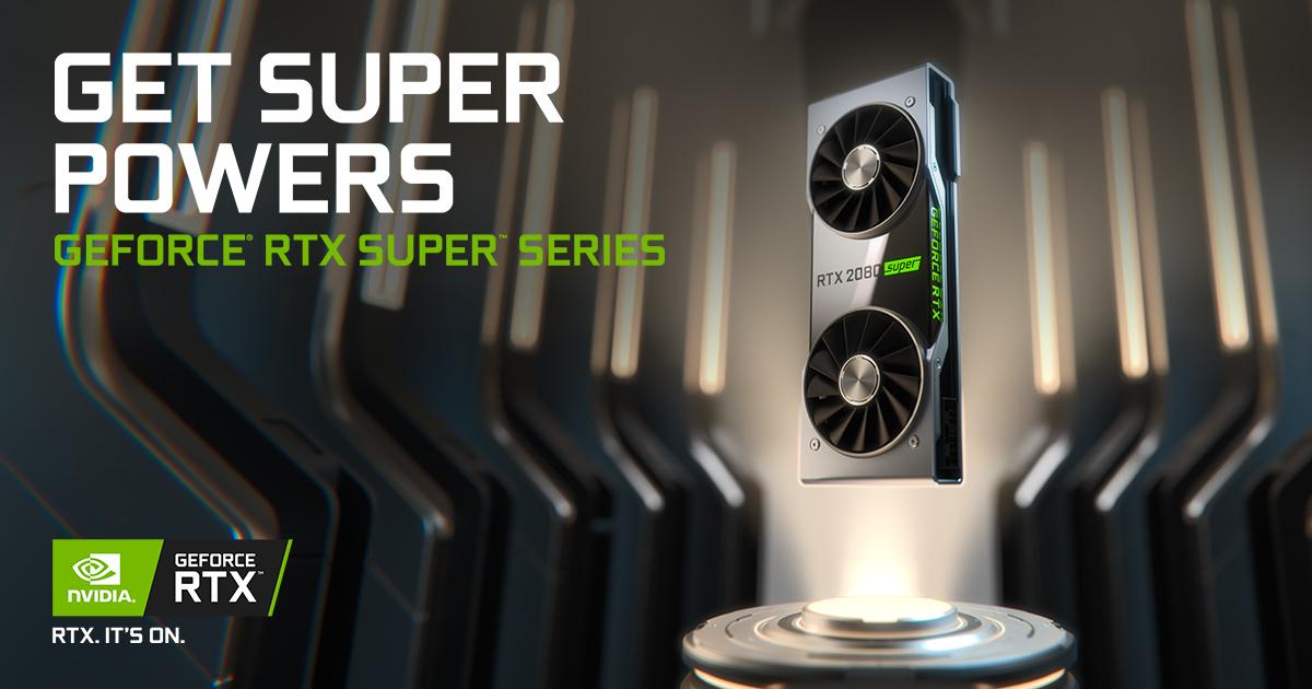 Nvidia RTX Super Card