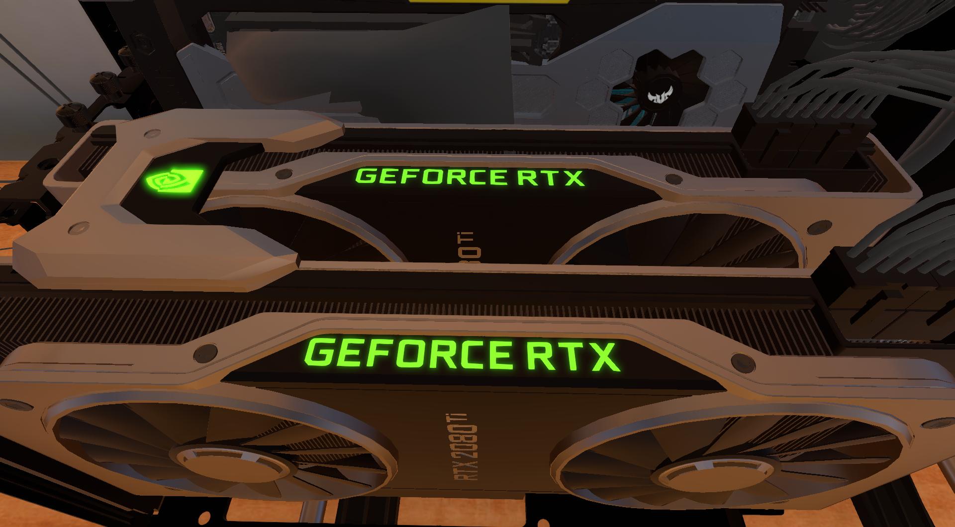 PC Building Simulator adds GeForce RTX GPUs As It Leaves
