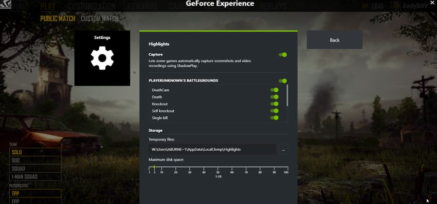 Geforce Instant Replay Lag
