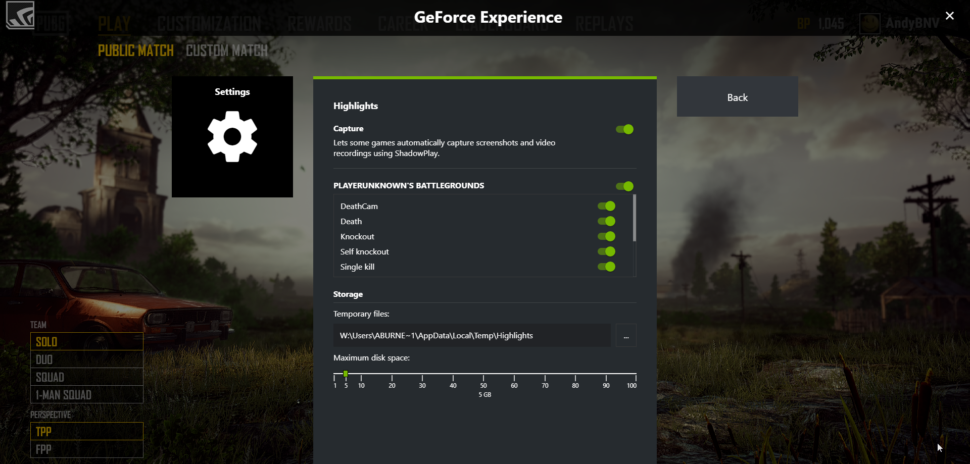 PlayerUnknown's Battlegrounds Adds NVIDIA Highlights In