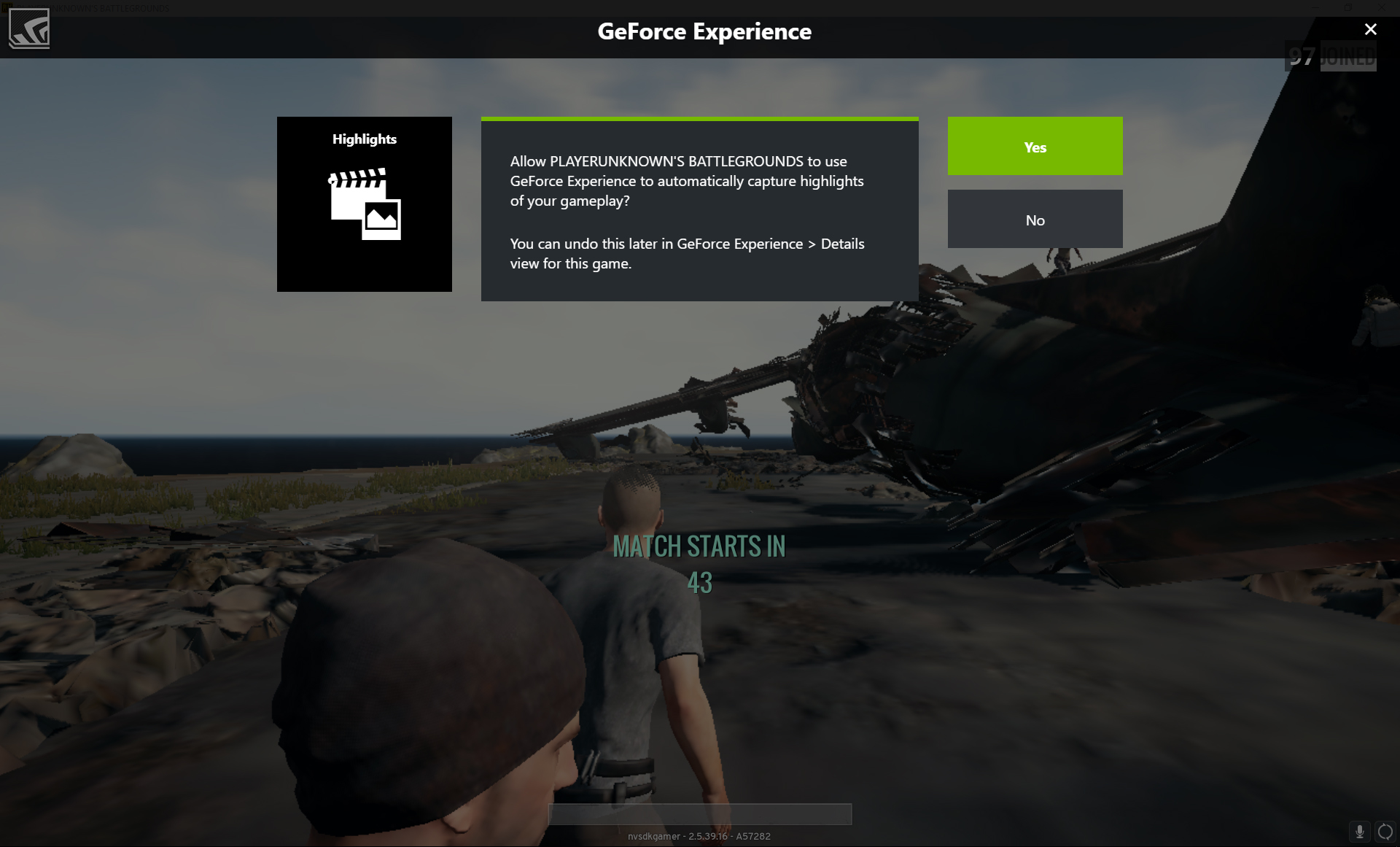 PlayerUnknown's Battlegrounds Adds NVIDIA Highlights In Newly
