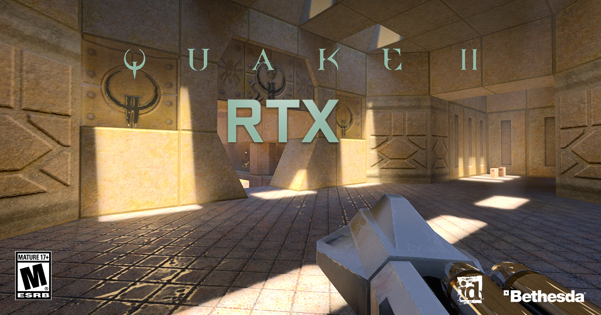 Quake II RTX Game Ready Driver Released. Also Includes Support For G-SYNC Compatible Monitors and VR Headsets