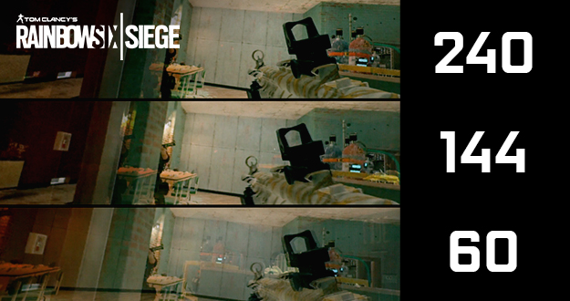 GeForce RTX Delivers 144+ FPS in Tom Clancy's Rainbow Six Siege