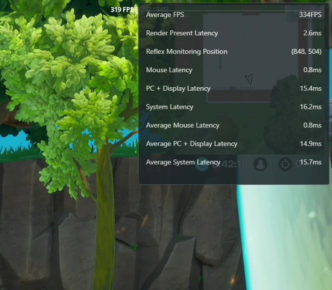 New GeForce Experience features enable you to instantly see performance and latency metrics in-game in a single overlay