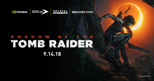 Shadow of the Tomb Raider hæver standarden med raytraced skygger i realtid, drevet af GeForce RTX – se dem i aktion i vores eksklusive trailere