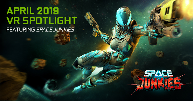 VR FPS Arcade Shooter Space Junkies Is Available Now