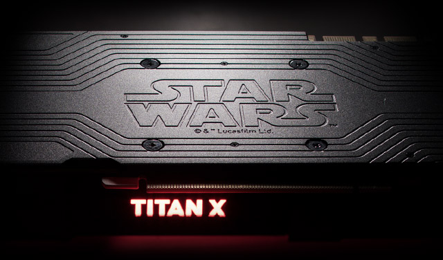 Star Wars Titan Xp case detailing