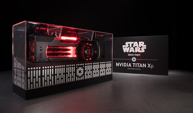 Titan Xp Galactic Empire Commemorative Box