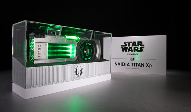 Star Wars Jedi Order Graphics Card Nvidia Geforce Titan Xp