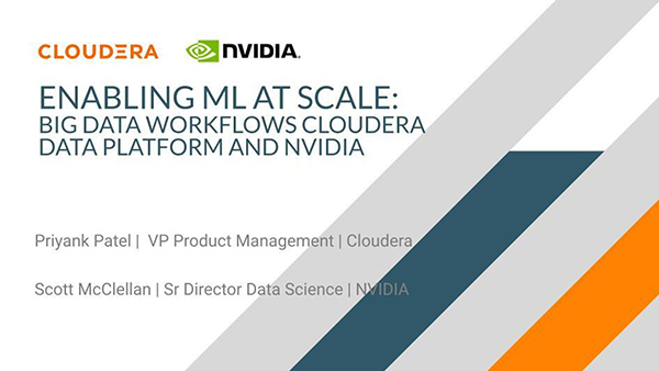 How Cloudera Data Platform Uses a Single Pane of Glass to Deploy GPU-Accelerated Applications Across Hybrid and Multi-Clouds