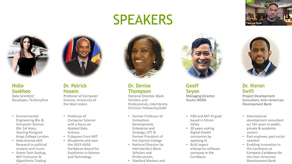 How the Caribbean Can Lay the Groundwork Today to Empower AI Leadership of the Future: A Panel Discussion