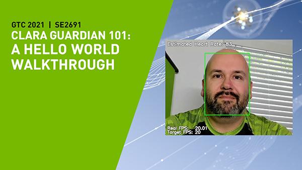 Clara Guardian 101: A Hello World Walkthrough on the Jetson Platform