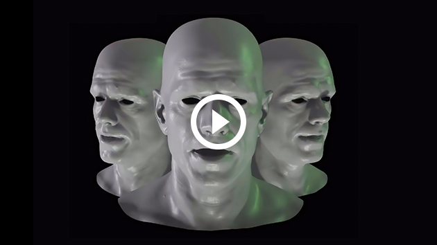 Audio2Face simplifies animation of a 3D character to match any voice-over track.