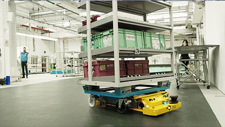 Smart Transport Robot (STR)