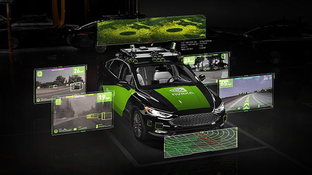 Платформа для разработки систем автоматического управления автомобилем NVIDIA  DRIVE AGX
