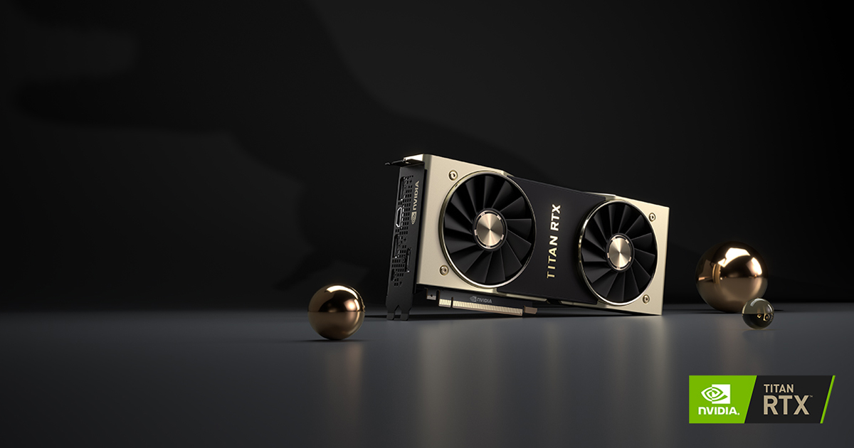 TITAN RTX Ultimate PC Graphics Card with Turing | NVIDIA