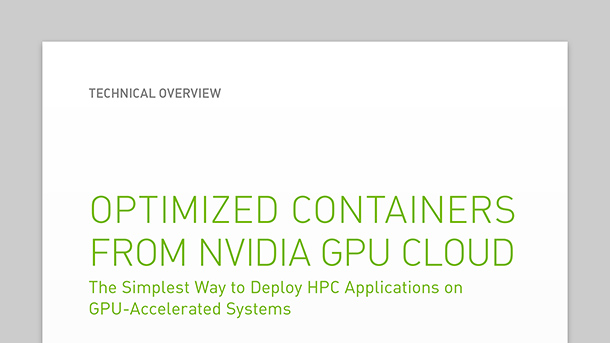 NVIDIA GPU Cloud HPC Technical overview