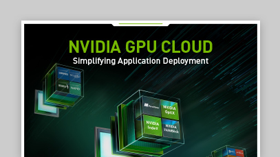 NVIDIA GPU Cloud HPC Infographic