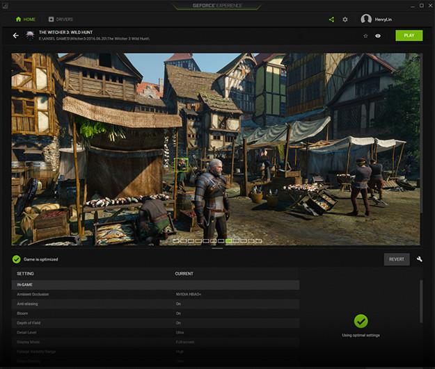 Geforce experience optimize games 625 u