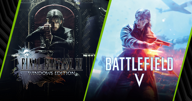 GeForce RTX Gamers: Starting Now, Experience Battlefield V With Ray Tracing, And Test The Final Fantasy XV DLSS Benchmark
