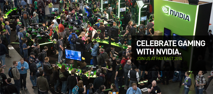 CELEBRATE GAMING WITH NVIDIA