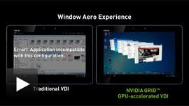 Click to play - Fluid Windows Aero interactivity