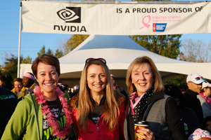 In 2013, Deb co-led NVIDIA's fundraising efforts for American Cancer Society's annual breast cancer walk