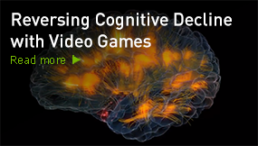 Reversing Cognitive Decline with Video Games