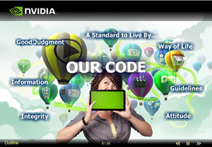 Our Code of Conduct web training