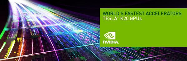 NVIDIA Tesla K20 GPUs