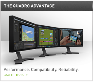 The Quadro Advantage