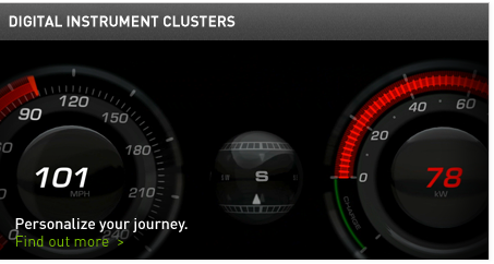 Digital Instrument Clusters