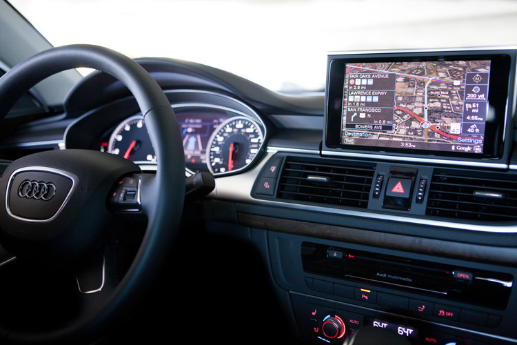 Named world's best infotainment system two years in a row, the Audi navigation system with live Google Earth is powered by NVIDIA.