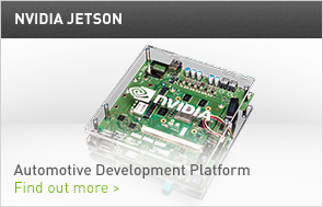 Jetson Automotive Developement Platform