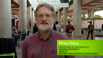 Testimonial: Mike Giles, Professor of Mathematics, Oxford University
