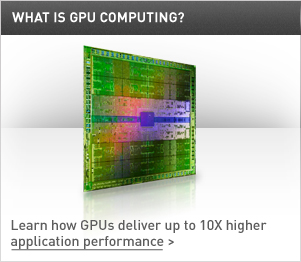 Learn how GPUs deliver up to 10x higher application performance
