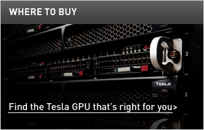 Find the Tesla GPU that's right for you