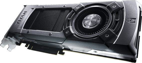 GeForce GTX TITAN graphics card with Kepler architecture